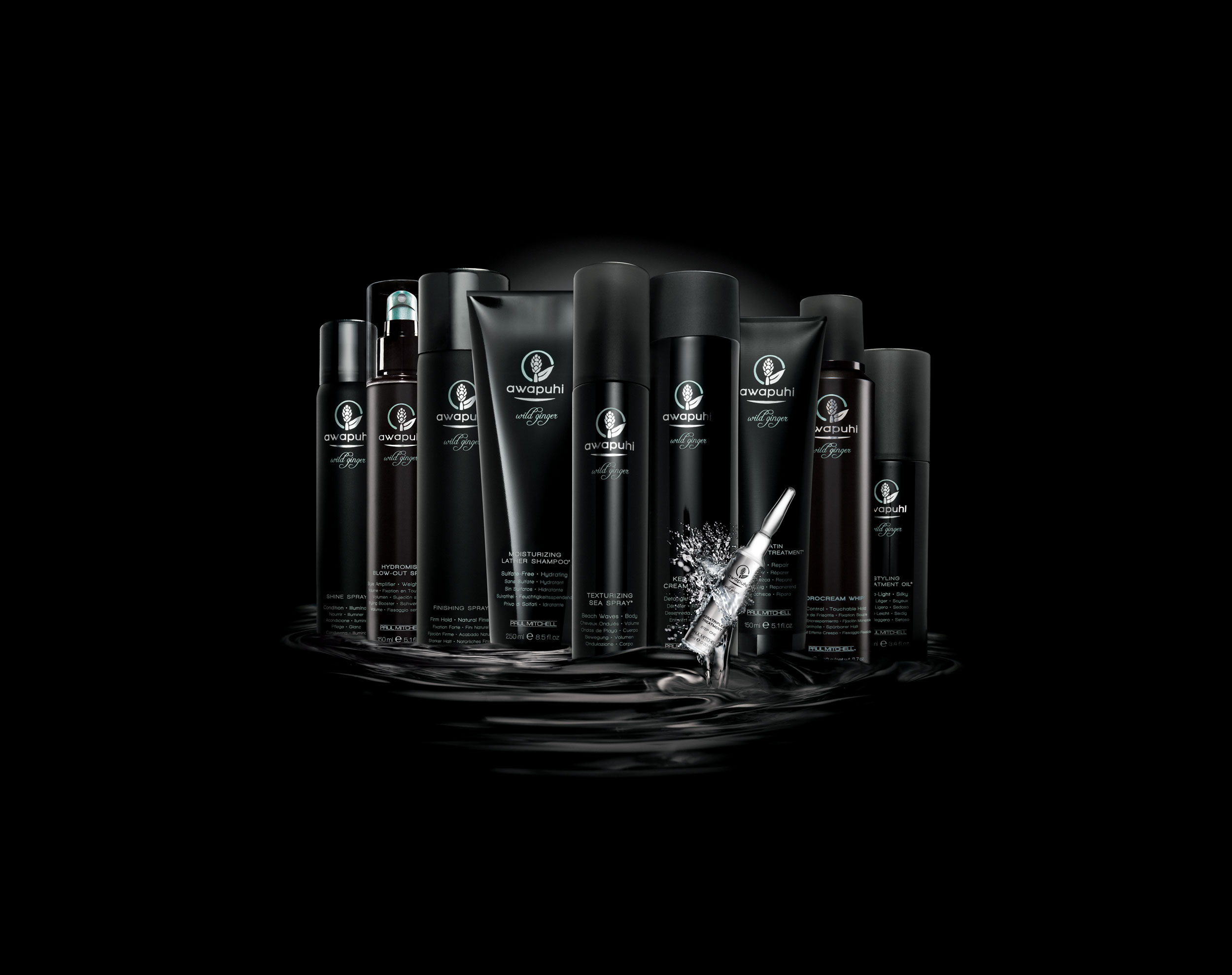 Whether your hair is damaged from over-processing, naturally thirsty and dry, or somewhere in between, Awapuhi Wild Ginger® offers a targeted professional treatment with dramatic, instant results.