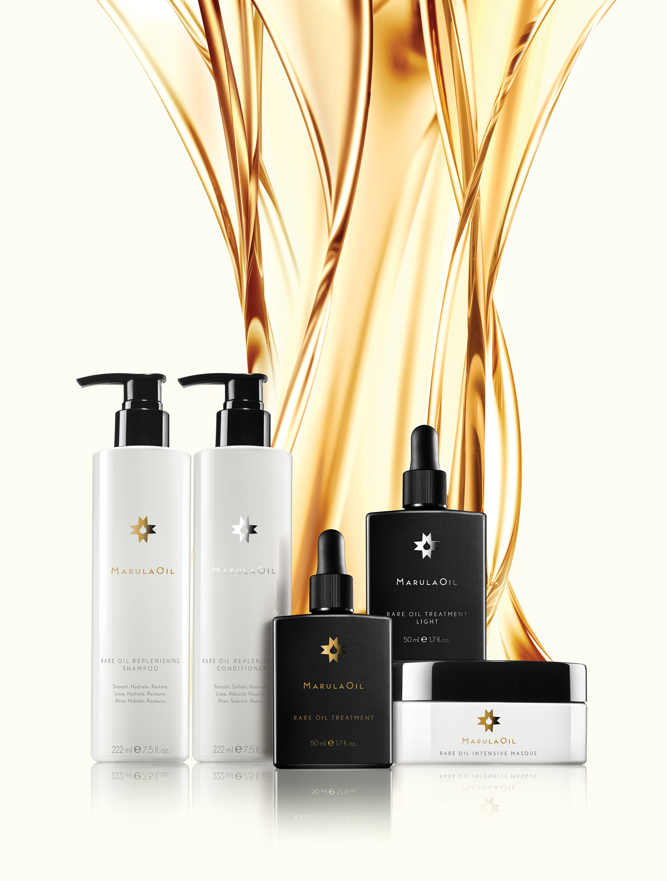Introducing luxury hair care that harnesses the power of RARE, NATURAL MARULA OIL. Wild-harvested in Africa, the oil is COLD-PRESSED to preserve its superior quality and nutrients.